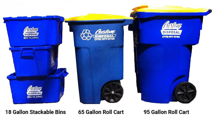 Bin and Cart Sizes